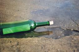 Flaschenpost  gefunden durch guten Content